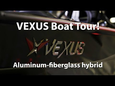 VEXUS Boat tour! Inside and out with Keith Daffron