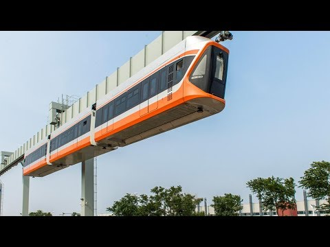 China's latest, fastest 'Skytrain' begins trial runs