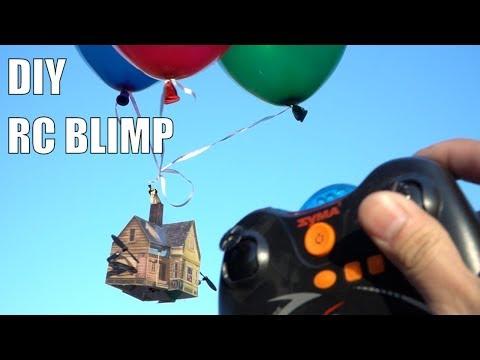 DIY RC Blimp(s)