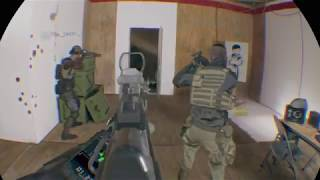 Firewall Zero Hour PSVR - 4 guns, 1 door - Stupid A I