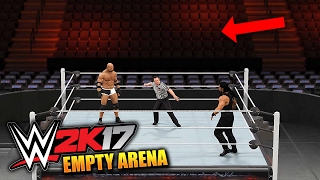 WWE 2K17 PC: How To Have An Empty Arena (PC Gameplay)