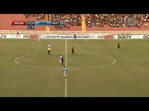 Melgar 4 - 0 Junior Copa Sudamericana 2015