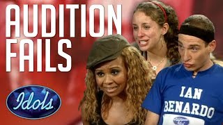 AUDITIONS GONE WRONG Angry Contestants & More | Idols Global