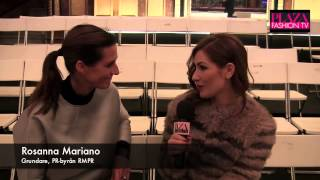 Rosanna Mariano och Robert Nordberg om framgång i modebranschen