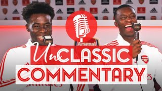 'He's ignored 3 teammates in the box, but he scored!' 😂| Saka & Nketiah | UnClassic Commentary