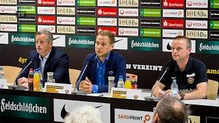 DFB-Pokal | SGD - S04 | Pressekonferenz nach dem Spiel