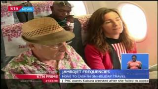KTN Prime: Jambojet increases flight frequencies ahead of Xmas season, 25th October 2016