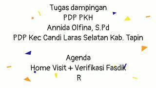 preview picture of video 'Dokumentasi verif dan home visit di Desa Pabaungan Pantai'