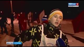 Ночная лыжная гонка прошла в Энгельсе