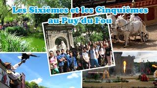 preview picture of video 'Juillet 2014 : Les Sixièmes et les Cinquièmes au Puy du Fou'