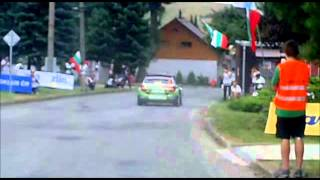 preview picture of video 'Barum Czech Rally Zlín 2012 - Shakedown'