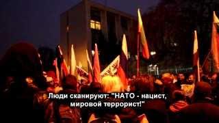7.03.2014г. митинг в Болгарии в поддержку политики России на Украине
