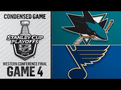 05/17/19 WCF, Gm4: Sharks @ Blues