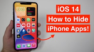 (iOS 14) How to Hide Any iPhone App!!