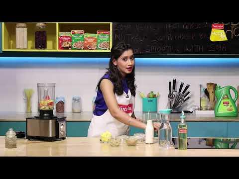 Quinoa Soya Smoothie