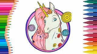 Mia Ve Ben Unicorn Boyama Minik Eller Boyama Kitabı Boyama