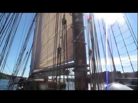 video of Topsail Schooner
