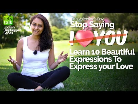 10 Beautiful Ways To Say 'I Love You' ❤️ | Learn Romantic English Expressions for Valentine's Day