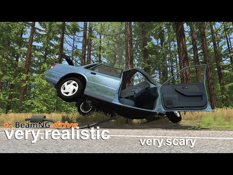 BeamNG.drive Alpha 0.8 - First Drive