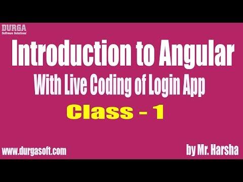 Learn Angular 2,4,5,6 Online Training   Introduction to Angular ...