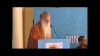 Hindu Media Conference@WHC 2014_Paramacharya Sadasivanathaswami