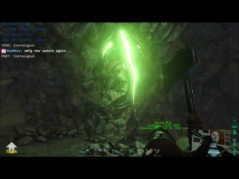 ARK Survival Evolved Walkthrough - ARK: Lower East Cave - lets check