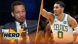 Chris Broussard defends Westbrook, talks Jayson Tatum interested in Pelicans rumors | NBA | THE HERD
