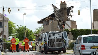 video: Child killed in Lancashire 'gas explosion'