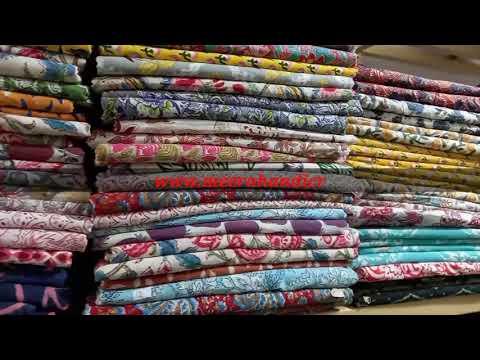 Indian Handmade Hand Block Printed Fabric