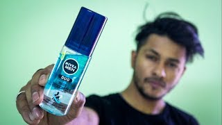 BEST DEO FOR SUMMERS | Nivea Men DUO BODY DEODRIZER Review