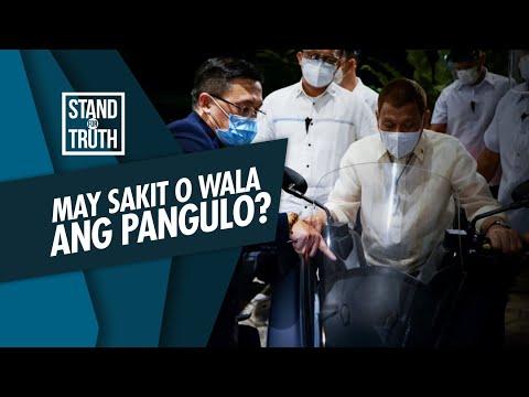 [GMA]  Stand for Truth: President Duterte, may sakit nga ba o wala?