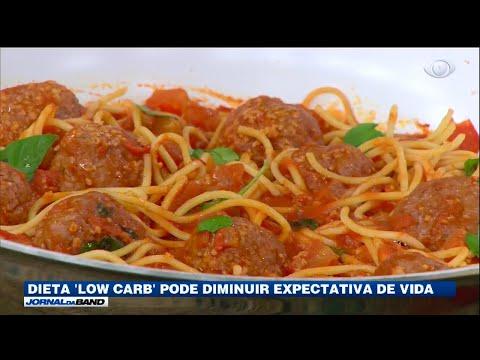 Dieta sem carboidrato pode diminuir expectativa de vida