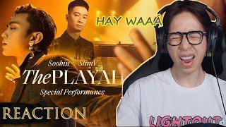SOOBIN X SLIMV - THE PLAYAH | ViruSs Reaction !