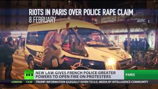 License to Shoot? New law gives French police greater powers to open fire on protesters