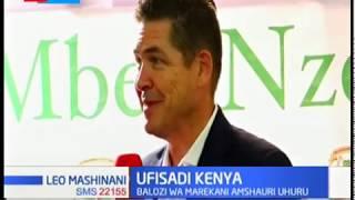 Balozi wa Merikani Kenya atoa witu kwa serikali kupambana na ufisadi ili kuboresha uchumi wa nchi