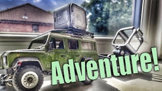 Who is driving that tiny RC car?!? FPV 1:35 Orlandoo Adventures