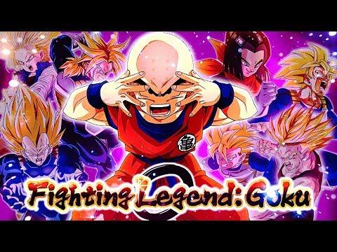 MAX DIFFICULTY CHALLENGE! F2P Cell Saga Team vs Fighting Legend: Goku Event! DBZ Dokkan Battle