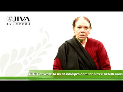 Dr. Vijay Laxmi's Story of Healing-Ayurvedic Treatment of Cold & Chronic Constipation