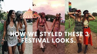 FALLS VLOG & How We Style Our Festival Outfits!