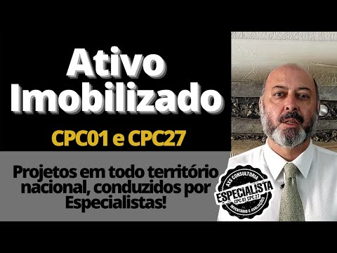 CPC01 e CPC27 - Obrigações Legais e o Ativo Imobilizado Avaliação Patrimonial Inventario Patrimonial Controle Patrimonial Controle Ativo