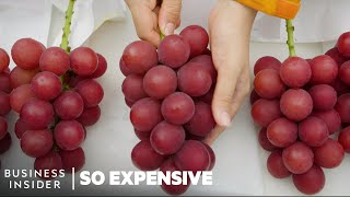 Why Japanese Ruby Roman Grapes Are So Expensive | So Expensive