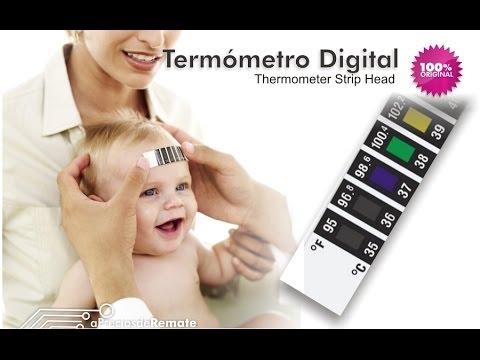 Termómetro Digital Cinta para la frente Scan de temperatura con la piel - aPreciosdeRemate