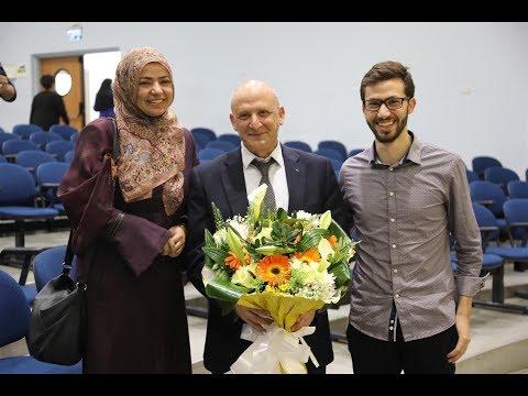تكريم ا.د. بشار سعد لحصوله على درجة الاستاذية الكاملة (Full Professor) - تاريخ 6.3.2018