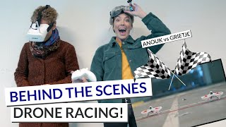Drone racing! | Behind the Scenes