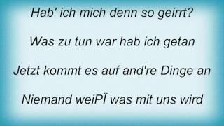 Abba - Wer Im Wartesaal Der Liebe Steht Lyrics