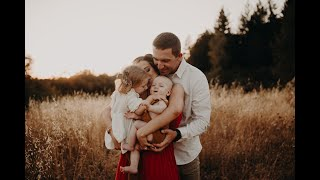 Behind The Scenes: An Outdoor Family Session With Megan Rose Photography