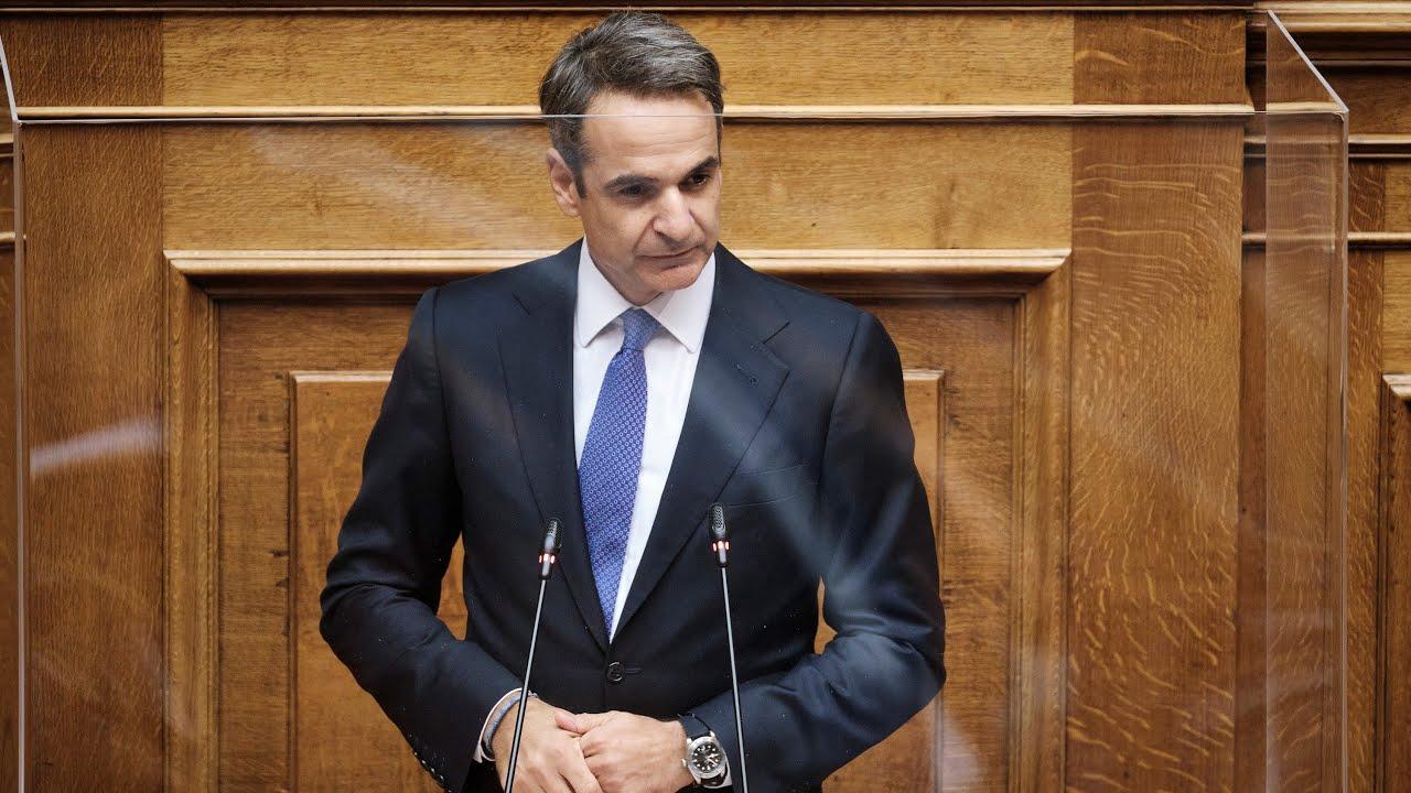 Ομιλία του Πρωθυπουργού στη συζήτηση για την πρόταση δυσπιστίας κατά του Υπουργού Οικονομικών
