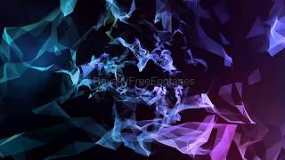 motion background | moving background | abstract polygonal geometric background, animated background