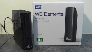 WD Elements Desktop 5TB - Unboxing & speed test
