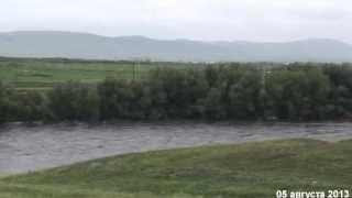 Прорыв плотины на озере Чебаркуль